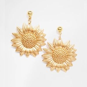 ASOS Regal Rose Sundance 70s Sunflower Earrings